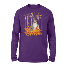 Load image into Gallery viewer, Fall Australian Shepherd Shirt and Hoodie - IPH480