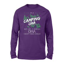 Load image into Gallery viewer, Camping Oma Shirt and Hoodie - SPH7