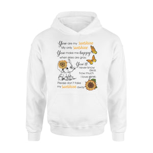 Cute baby Elephant You are my sunshine hoodie shirt - IPH289