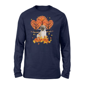 Fall Fawn Pug Shirt and Hoodie - IPH476