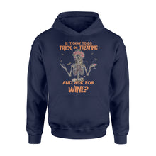 Load image into Gallery viewer, Halloween wine Shirt and Hoodie - QTS39