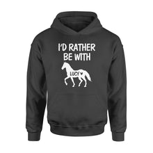 Load image into Gallery viewer, Personalized horse name shirt and hoodie
