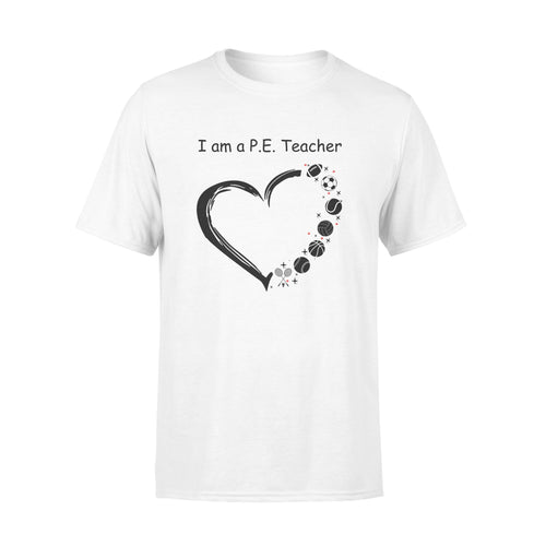 I'm a PE teacher Shirt and Hoodie - QTS94