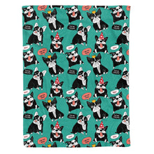 Load image into Gallery viewer, French Bulldog Fleece Blanket - IPH420