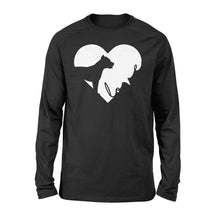 Load image into Gallery viewer, Love Pitbull print long sleeve shirt design - IPH390