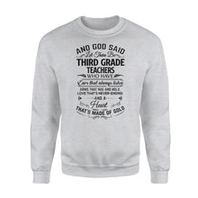 Load image into Gallery viewer, Third grade teacher Shirt and Hoodie - QTS63