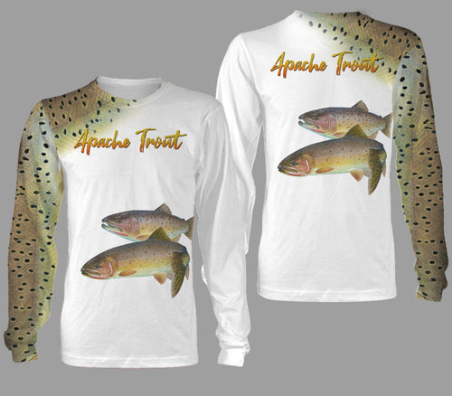 Apache trout fishing full printing