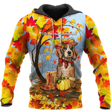 Load image into Gallery viewer, Beagle Autumn Full Printing Shirts - IPH545