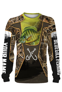 Bluegill fish Customized Fish on All over printed Long sleeve, Hoodie, Zip up hoodie - FSA23