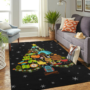 Camping Christmas Tree wayfair rugs christmas decorations - NQS45