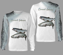 Load image into Gallery viewer, Chinook salmon fishing full printing