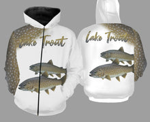 Load image into Gallery viewer, Lake trout fishing full printing