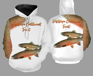 Westslope cutthroat trout fishing full printing