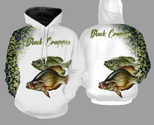 Crappie fishing full printing