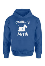 Load image into Gallery viewer, Personalized scottish terrier name mom shirt and hoodie