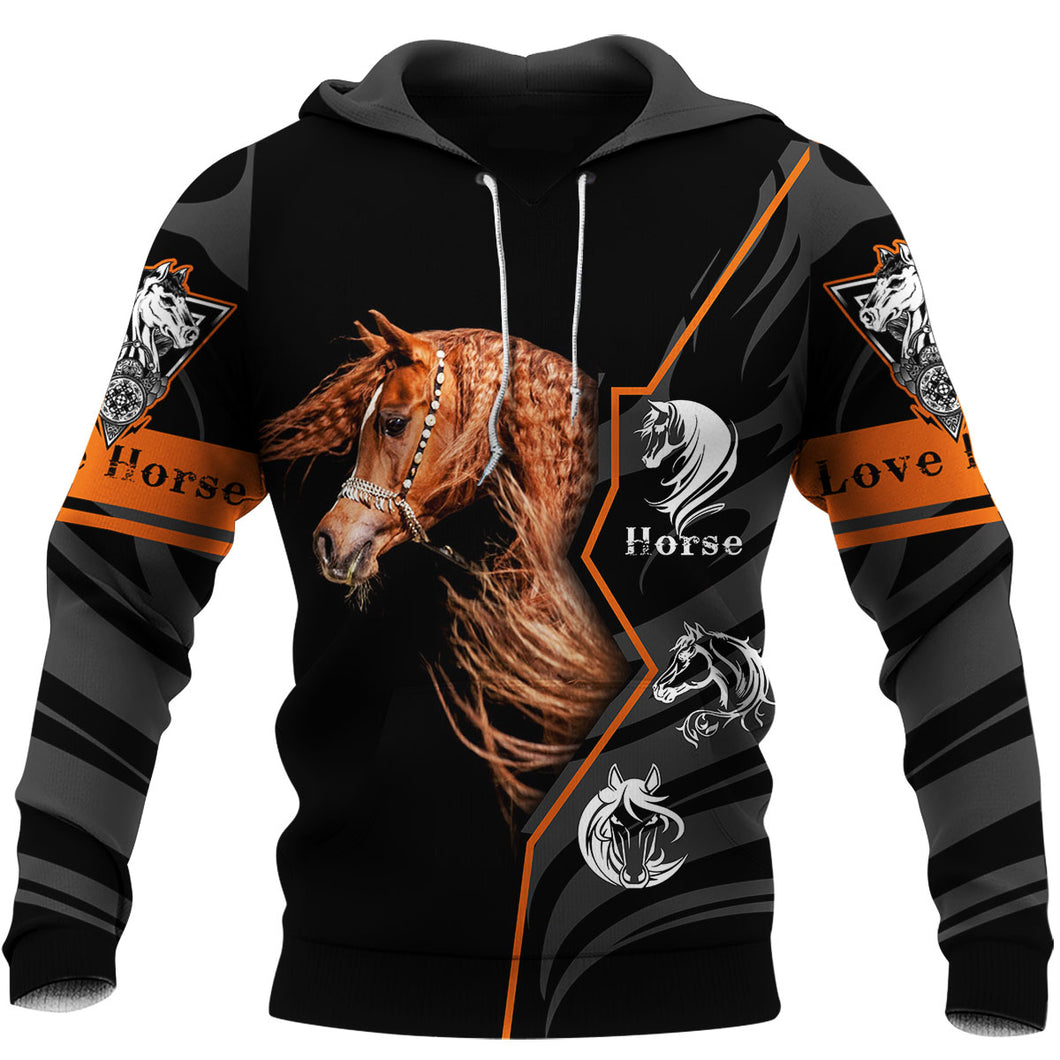 Amazing Arabian Horse all over print 3D shirt designs - great gift ideas for horses lovers - PH535