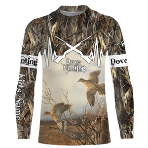 Dove Hunting Shirt Custom Camouflage All over print shirts for men, women and kids - IPH2094