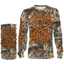 Load image into Gallery viewer, Father and daughter Hunting partners for life Customize name 3D All over print shirts - personalized hunting apparel gift for men, women and kid - IPH1948