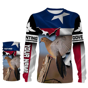 Personalized Dove Hunting Shirt Texas Shirt Custom All over print Shirt for bird hunting lovers - iPH2095