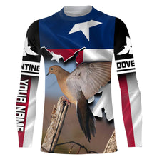 Load image into Gallery viewer, Personalized Dove Hunting Shirt Texas Shirt Custom All over print Shirt for bird hunting lovers - iPH2095