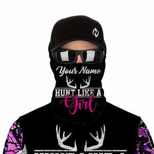 Pink muddy camo Hunt like a girl Custom Full printing Hoodie, Long sleeve, Zip up, T shirt, Tank top various styles to choose for muddy girl - IPH2214