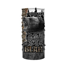 Load image into Gallery viewer, Bear Hunting camo hunting clothes Customize Name 3D All Over Printed Shirts Personalized Hunting gift For men, women And Kid NQS904