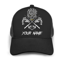 Load image into Gallery viewer, Fish Reaper Adjustable Mesh Unisex Fishing Baseball Trucker Angler hat cap - personalized Fishing gift for men and women - GC - NQS511