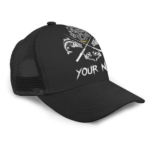 Fish Reaper Adjustable Mesh Unisex Fishing Baseball Trucker Angler hat cap - personalized Fishing gift for men and women - GC - NQS511