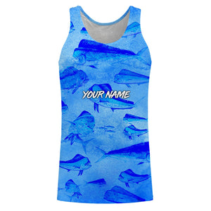 Mahi Mahi ( Dorado) Fishing Salt water Fishes Blue Ocean 3D All Over print shirts personalized fishing Gift for Adult and kid NQS568