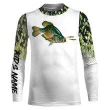 Load image into Gallery viewer, Crappie Fishing 3D All Over print shirts personalized fishing apparel for Adult and kid NQS575