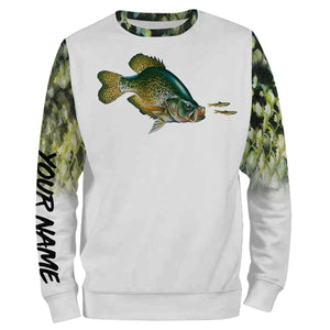 Crappie Fishing 3D All Over print shirts personalized fishing apparel for Adult and kid NQS575