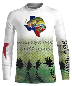 Bass Fishing Skin Texas Fishing 3D All Over print shirts personalized fishing Gift for Adult and kid NQS566