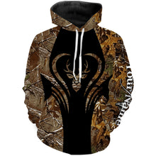 Load image into Gallery viewer, Love Deer hunter game camo Deer Hunting Customize Name 3D All Over Printed Shirts Personalized Hunting gift For Men, women and kid NQS963