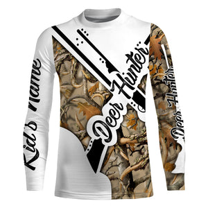 Deer hunter game deer hunting rifle Customize Name 3D All Over Printed Shirts plus size Personalized Hunting gift For men, women and kid NQS972