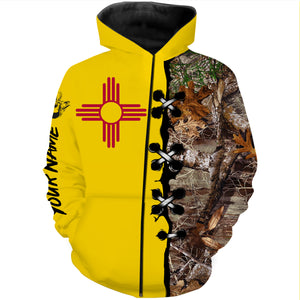 NM New mexico elk hunting Customize Name 3D All Over Printed Shirts plus size Personalized Hunting gift For men, women and kid NQS980