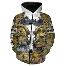 Load image into Gallery viewer, Elk hunting Custom Name 3D All over print shirts - personalized hunting gifts - FSD240