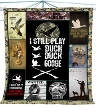 Load image into Gallery viewer, Duck hunting fleece blanket - Gift for Hunters - FSD395