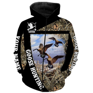 Goose Hunting Custom Name 3D All over print Shirts - Hunting gift for Men, Women and Kid - FSD67