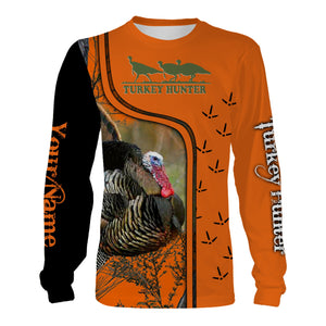 Turkey hunting shirts, face shield custom Name 3D All over printing - Personalized hunting gifts - FSD436