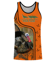 Load image into Gallery viewer, Turkey hunting shirts, face shield custom Name 3D All over printing - Personalized hunting gifts - FSD436