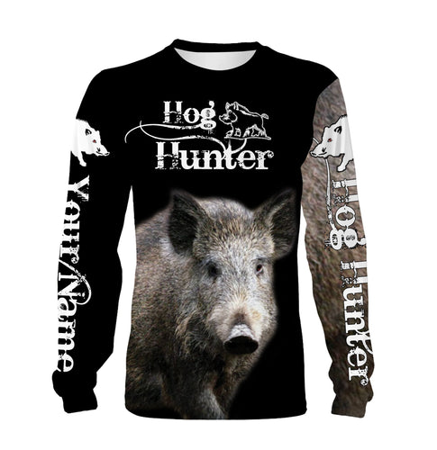 Feral Hog hunting Custom Name 3D All over print T-shirt, Long sleeve, Hoodie, Zip up hoodie -  FSD162