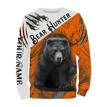 Load image into Gallery viewer, Black Bear hunting Custom Name 3D All over print shirts - personalized hunting gifts - FSD227