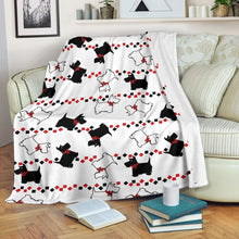 Load image into Gallery viewer, Scottish Terrier Fleece Blanket - IPH425