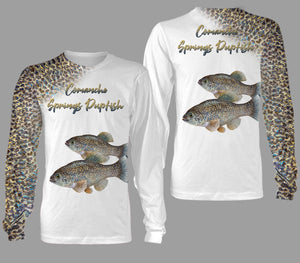 Comanche springs pupfish fishing full printing