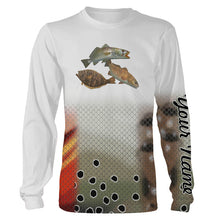 Load image into Gallery viewer, Personalized Texas slam fishing 3D full printing shirt for adult and kid