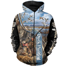 Load image into Gallery viewer, Duck Hunting 3D All Over Print Shirt NQS102 PQB