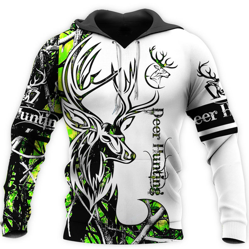 Deer Hunting camo 3D all over Print t shirt, long sleeve, tank top, zip up hoodie and Hoodie plus size - NQS76