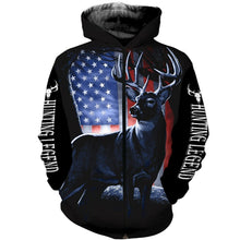 Load image into Gallery viewer, Deer Hunting legend mens womens hunting clothes all over print shirt, long sleeve, hoodie, coat plus size NQS91 PQB