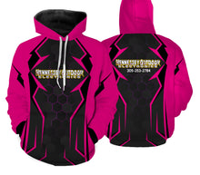 Load image into Gallery viewer, Pink - Hennessey Outdoor Electronics all over full printing shirt and hoodie