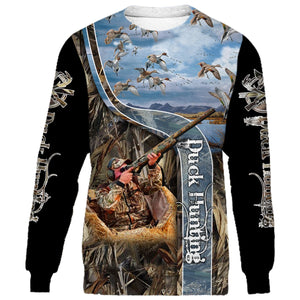 Duck Hunting 3D All Over Print Shirt NQS102 PQB